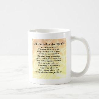 Schwager-Gedicht - Creme Tasse