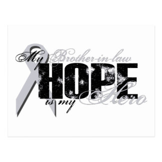 Schwager mein Held - Lungen-Hoffnung Postkarte