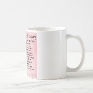 Schwägerin-Gedicht-40. Geburtstag Kaffeetasse