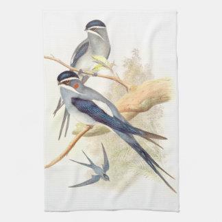 Schwalben-Vogel-Tier-Tiere Küchentuch