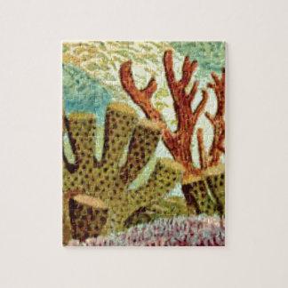 Schwämme und Koralle Puzzle