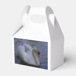 Schwan-Bevorzugungs-Kasten Geschenkschachtel