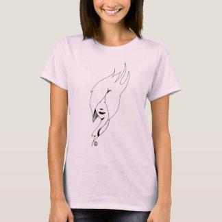 Schwan-Shirt T-Shirt