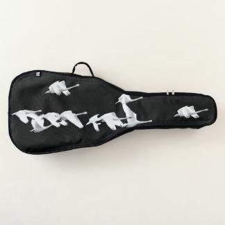 Schwan-Vogel-Tier-weicher Gitarren-Taschen-Kasten Gitarrentasche
