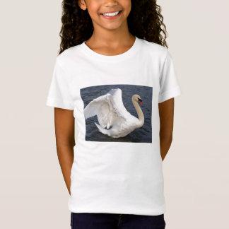 Schwan Wings T-Stück T-Shirt