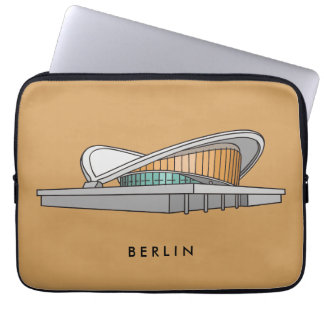Schwangere Auster (Kongreß Hall) in Berlin Laptopschutzhülle