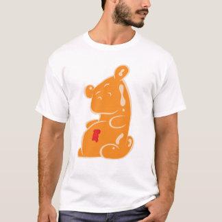 Schwangerer gummiartiger Bär T-Shirt