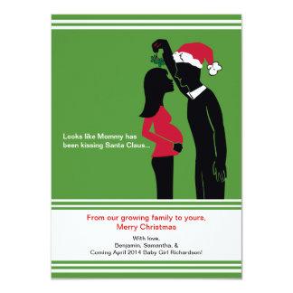 Schwangerschafts-Mitteilungs-Karten-Mama des 11,4 X 15,9 Cm Einladungskarte