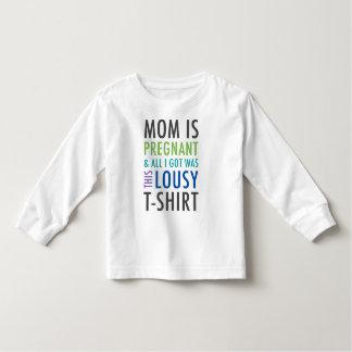 Schwangerschafts-Mitteilungs-Shirt für Kinder Kleinkind T-shirt
