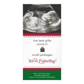 Schwangerschafts-Mitteilungs-Weihnachtskarte Karte