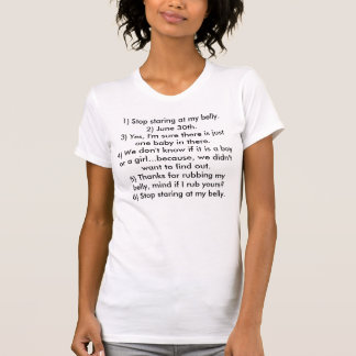 Schwangerschafts-T-Stück T-Shirt