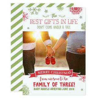 Schwangerschaftsmitteilungskarte der frohen karte