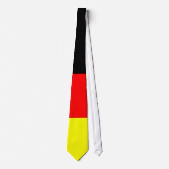 schwarz-rot-gold-Schlips Fussball Deutschland Personalisierte Krawatten