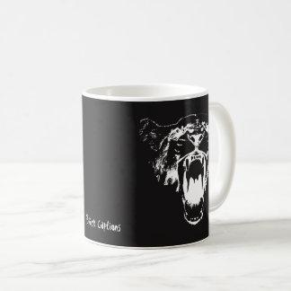 Schwarz u. Weiß hören Sie mein Brüllen! - Kaffeetasse