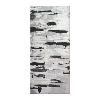 schwarz-weiß Komposition abstrakt Gespannter Galerie Druck