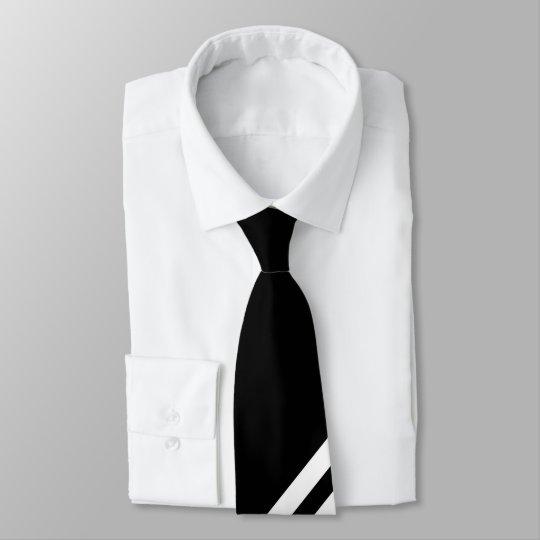 Schwarz - weiß krawatte