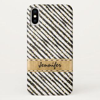 Schwarz-weiße Case-Mate kaum dort iPhone X