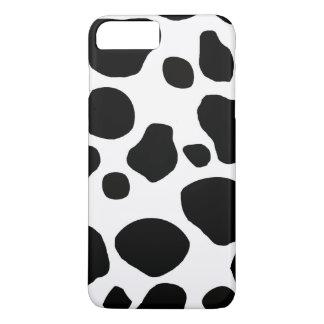 Schwarz-weiße Kuh-Stellen iPhone 8 Plus/7 Plus Hülle
