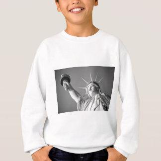 Schwarz-weißes Freiheitsstatue Sweatshirt