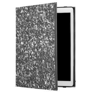 Schwarz-weißes und graues Glitter-Muster
