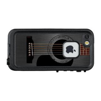 Schwarze Akustikgitarre LifeProof FRÄ' iPhone SE/5/5s Hülle