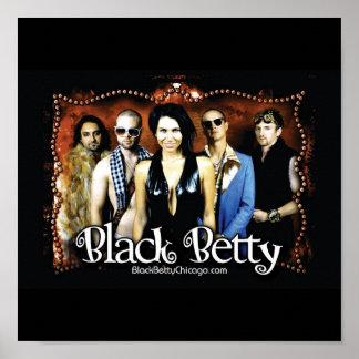 Schwarze Betty Poster