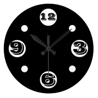 Schwarze Blase Vineta Uhr