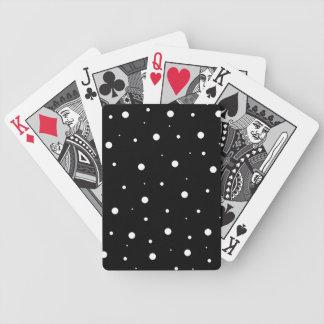 Schwarze Blasen Spielkarten