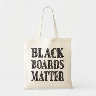 Schwarze Brett-Angelegenheits-Taschen-Tasche Tragetasche