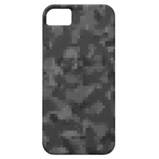Schwarze Camouflage Digital iPhone 5 Schutzhülle