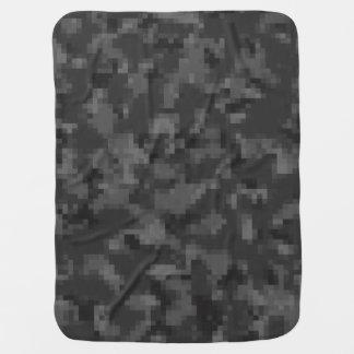 Schwarze Camouflage Digital Puckdecke