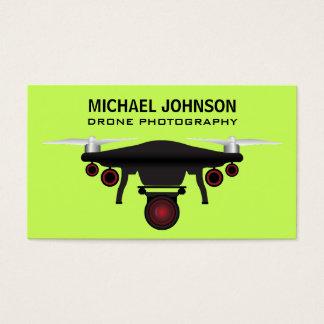 Schwarze des Drohne-| Drohne-Fotografie Drohne-der Visitenkarte