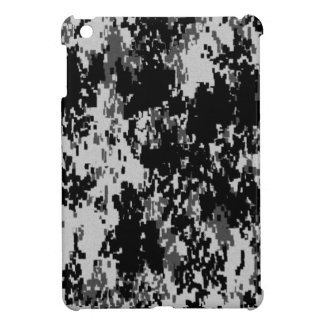 Schwarze Digital-Camouflage iPad Mini Hülle