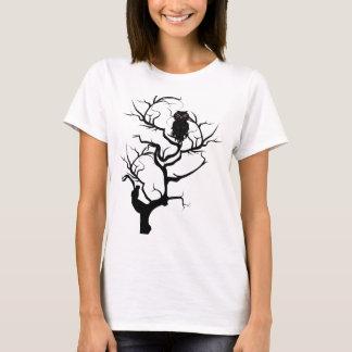 Schwarze Eule 6 T-Shirt