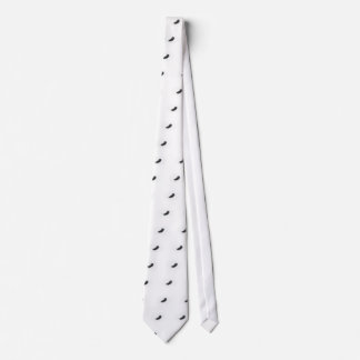 Schwarze Feder Individuelle Krawatten
