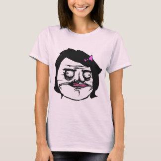Schwarze Frau ich Gusta Comic-Raserei-Gesicht Meme T-Shirt