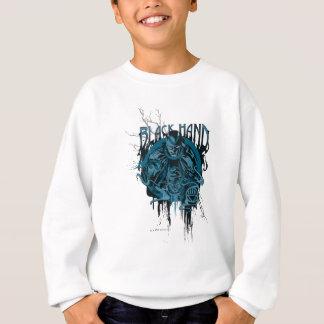 Schwarze Hand - grafische Collage Sweatshirt