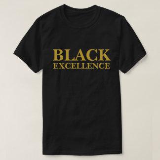 Schwarze hervorragende Leistung T-Shirt