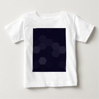 Schwarze Hexagone Baby T-shirt
