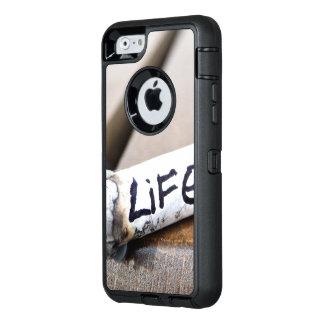 schwarze iphone Abdeckung OtterBox iPhone 6/6s Hülle