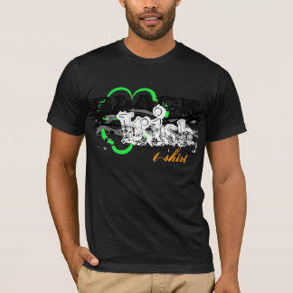 Schwarze Iren T-Shirt