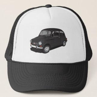 Schwarze Kappe Fiats 600 (Seicento)