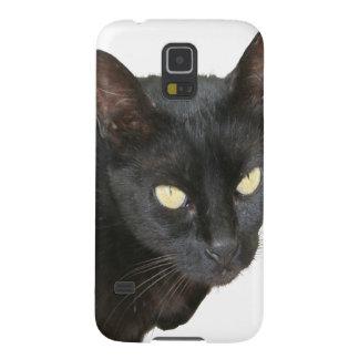 Schwarze Katze abgeschieden Galaxy S5 Cover