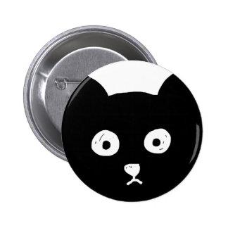 Schwarze Katze Buttons