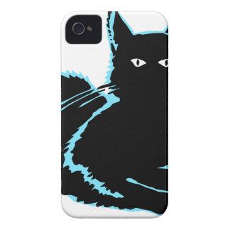 Schwarze Katze Case-Mate iPhone 4 Hüllen