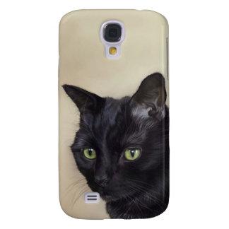 Schwarze Katze Galaxy S4 Hülle
