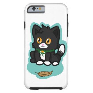 Schwarze Katze Tough iPhone 6 Hülle
