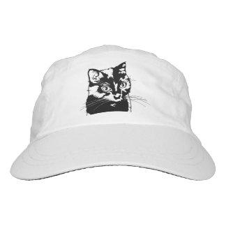 Schwarze Katze Headsweats Kappe