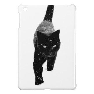 Schwarze Katze im Schnee - iPad Minifall Hüllen Für iPad Mini