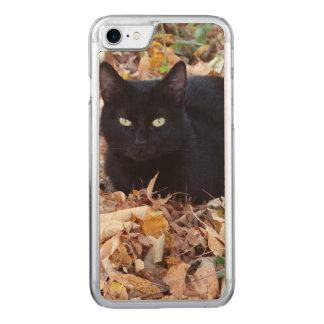 Schwarze Katze PhoApple iPhone 8/7 dünner Carved iPhone 8/7 Hülle